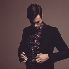 Looking in Polka dots is the way #streetfashion #streetstyle #mensstyle #mensfashion #oldschool #dapper #suave #classic #stylish #fashionbloggers #blackpelican #RobertRedfern #Blackpelicanapparel...