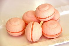 Bubble Bath Macarons