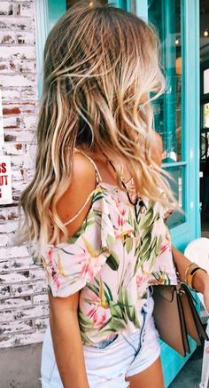 Yes to all of this, wavy beach hair and all.