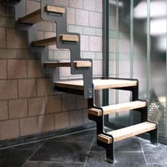 1000 ideas about echelle escalier on pinterest escalier escamotable ladder and stairs. Black Bedroom Furniture Sets. Home Design Ideas