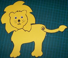 Movable Lion Craft I Like This Think Ill Tape A Couple