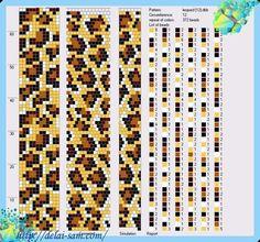Die 476 Besten Bilder Von Muster Perlenketten Bead Crochet Bead