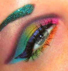 Most Popular Eyes Photos The Make, Make Me Up, Eye Make Up, Photos Of Eyes, Dramatic Makeup, World Of Color, Creative Makeup, Face Art, How To Feel Beautiful