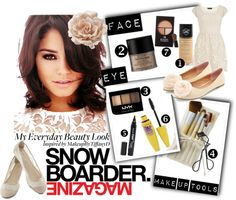 """""""My Everyday Beauty Look"""" by azura-yusoff ❤ liked on Polyvore"""