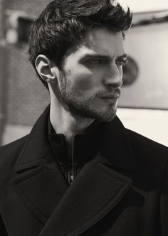 Reiss, Hot Men, Matthew Bell, Man Photography, Check Coat, Face Reference, New York, Male Face, Good Looking Men