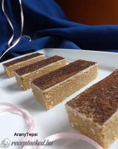 A legjobb Cappuccino szelet sütés nélkül recept egyenesen a Receptneked.hu gyűjteményéből