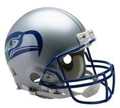 Seattle Seahawks Throwback 1983-2001 Riddell Authentic Pro Line Helmet