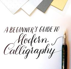 Learn modern calligraphy now on my new blog: http://bit.ly/1fmBTYE #calligraphy #ink #penmanship