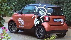 Festa del primo anno di attività. The cars: SMART FOR TWO.