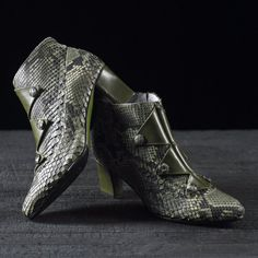 Boot handcrafted In Italy Hand Made and by Atelierdelrettile