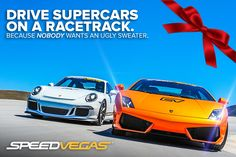 Rev up this holiday season with a trip to SPEEDVEGAS. The newest, hottest and fastest driving experience in Las Vegas has everything that you are looking for. Clash of the Titans, High Octane, Adrenaline and Dynamic Duo offered exclusively at SPEEDVEGAS. https://speedvegas.com/en/driving-experience-packages/category/supercar-combos/4