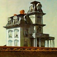House by the Railroad (1925)  Museum of Modern Art, New York.  By Edward Hopper.