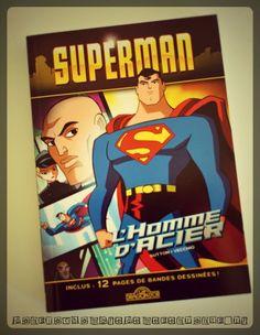 Superman L'homme d'acier - Editions Les livres du dragon d'Or