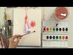 How to Make Blooms in Watercolors : Watercolor Painting