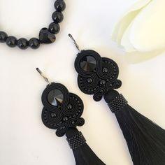 Tassel Necklace, Handmade Jewelry, Drop Earrings, Unique, Fashion, Moda, Drop Earring, Fasion, Diy Jewelry