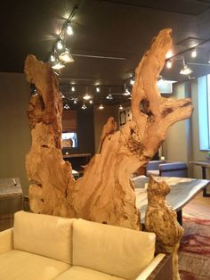 7M Woodworking for our live-edge, naturally sculpted pieces - Natural edge wood slabs can be found at http://www.BerkshireProducts.com