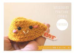 Fortune Cookie Amigurumi