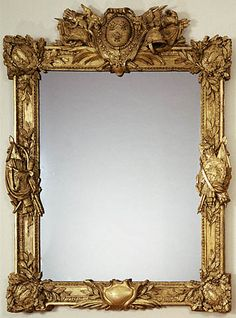 Mirror,   Stamped by Paul Georges   French, Paris, about 1775 - 1780