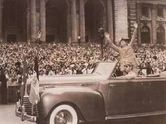 Vintage 1945, Eisenhower's Ticker Tape Parade in NYC, www.RevWill.com
