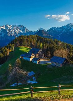 Logar Valley, Slovenia: