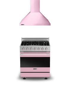 "Viking Pink D3 30"" W. Range and 30"" W. Ventilation Hood PINK"