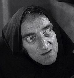 Marty Feldman as Igor in Mel Brooks' Young Frankenstein