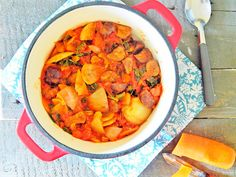 Chestnut and Artichoke Casserole with rosemary and thyme
