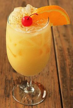 Pusser's Painkiller Cocktail - Bahama Bob at The Rum Bar in Key West makes the best!
