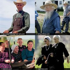 Amish vs Mennonite
