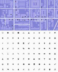 Web design freebies, Makiicons - 88 Free Cartography Icons