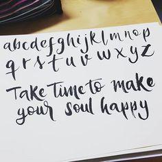 Hello July  #wordstolivebyJuly  #brushpen #calligraphy #July #handwriting
