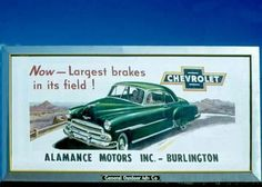Vintage Billboard. Burlington NC