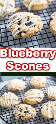 These blueberry scones are fit for royalty! Each scone is buttery flakey and bursting with bright fresh blueberries! Serve these sweets with a steaming cup of tea for the perfect mid-day treat! Brunch Recipes, Breakfast Recipes, Vegan Recipes, Dinner Recipes, Dessert Recipes, Cooking Recipes, Top Recipes, Muffin Recipes, Kitchen Recipes