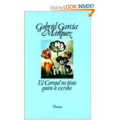 One of Gabriel Garcia's best novels. Available in English too. Check it out!