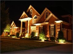 Image of: outdoor backyard lighting ideas diy diy outdoor lighting ideas for patios and walkways Led Outdoor Landscape Lighting, Landscape Lighting Design, Backyard Lighting, House Lighting, Club Lighting, Modern Landscaping, Outdoor Landscaping, Landscaping Ideas, Backyard Ideas