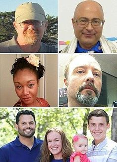 San Bernardino shooting massacre victims revealed