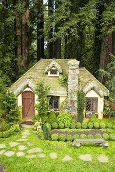 Lolys Enríquez - Google+ - Cabaña en el bosque.
