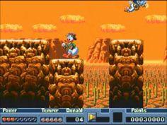 """Quack Shot """"DuckTales"""" (Sega Mega Drive)"""