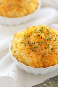 These Make Ahead Smoked Gouda Mashed Potatoes are delicious, versatile, great for everyday or entertaining and perfect for eliminating last minute stress!
