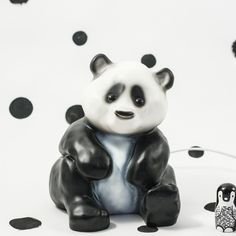 Panda Lamp,  $72 ~ Your child will love this adorable panda lamp that diffuses a warm & soft light | Sunday in Color