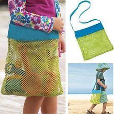 2015 Retail Kids Beach Toys Receive Bag Mesh Sandboxes Away All Sand Child Sandpit Storage Shell Net Designer Bag Red Purse From Gldzkj, $4.23| Dhgate.Com