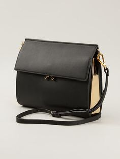 MARNI 'Metal Trunk' cross body bag $1,660.00--->$996.00
