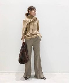 BUYER.YのT/N Basic Knit コーディネートスナップ|L'Appartement(アパルトモン)- BAYCREW'S STORE Asian Style, Normcore, Clothes, Mood, Fashion, Outfits, Moda, Clothing, Fashion Styles