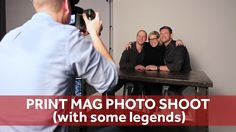 A behind the scenes look at the PRINT magazine photo shoot with some of San Francisco's movers, shakers, and bad ass game changers. Design Tech, Wild Creatures, Print Magazine, Game Changer, School Design, Storytelling, Behind The Scenes, Photo Shoot, Legends
