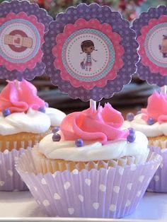 Cupcakes de la Doctora Juguetes