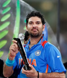 Yuvraj Singh, Indian Cricket Player Yuvraj Singh is the powerhouse performer who fills in. India Cricket Team, World Cricket, Icc Cricket, Cricket Sport, Cricket Match, Cricket Poster, Dhoni Wallpapers, Yuvraj Singh, Cricket Wallpapers