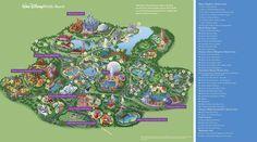 Walt Disney World Maps - Parks and Resorts