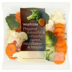 essential Waitrose carrot, cauliflower and broccoli - Waitrose