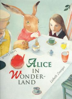 The Best Illustrations from 150 Years of Alice in Wonderland | Brain Pickings - Lisbeth Zwerger