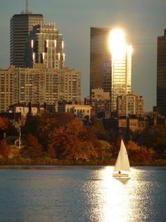 I'd love to take an East Coast Trip.............Boston in the Fall!